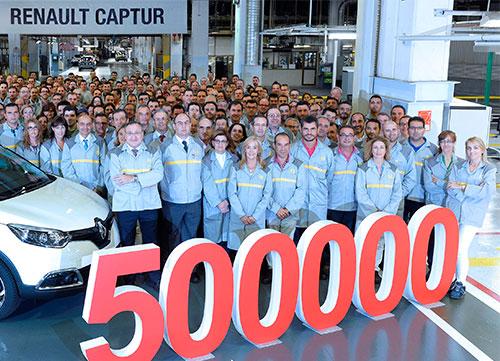 500.000 Renault Captur en Valladolid