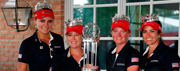Estados Unidos, nuevas reinas del golf
