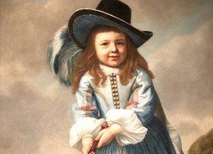 Un chico jugando al Kolf en 1658