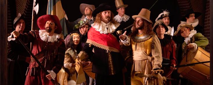 ¿Cuántos jugadores es capaz de reconocer en 'La ronda de noche' de Rembrandt?