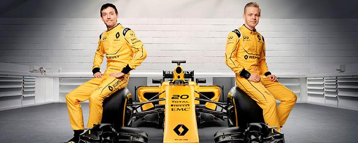 Renault Sport desvela los colores de su Formula One