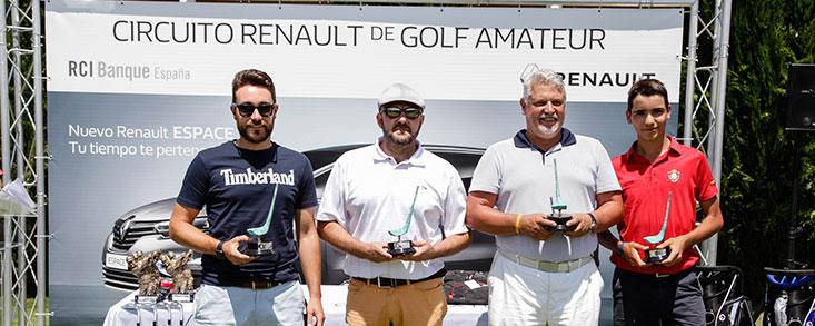 Un año de golf descubriendo valores