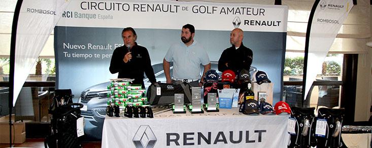 Cien golpes solidarios en el Circuito Renault de Golf