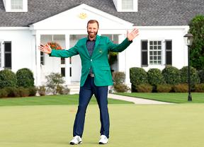 Dustin Johnson se vistió de verde en un Masters histórico