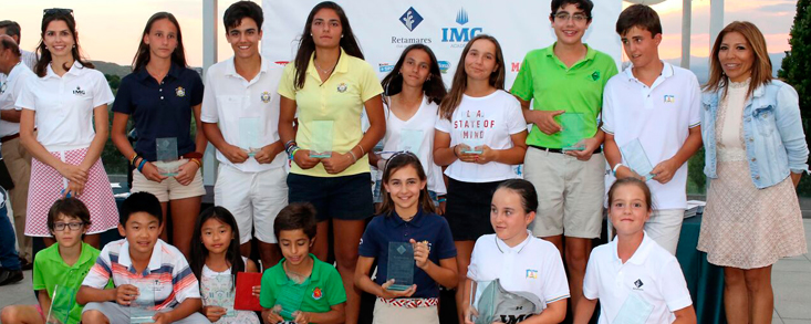 V aniversario Junior Golf Retamares Open by IMG Academy 2019