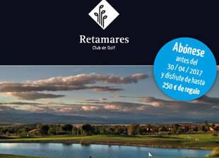 Gran oferta para nuevos abonos en Retamares