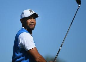 Tiger Woods termina con cuatro sobre par después de 523 días,