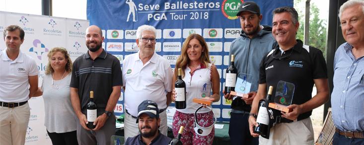Sánchez Palencia gana el Proam de Riocerezo