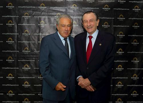 Homenaje a Ángel de la Riva en el décimo aniversario del club