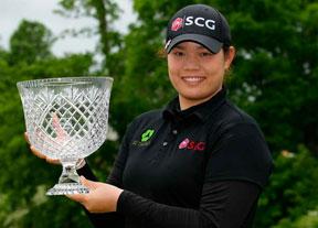 Ariya Jutanugarn no cede y logra su segunda victoria en la LPGA