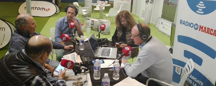 Unigolf y Jon Rahm, protagonistas en Radio Marca desde Ifema