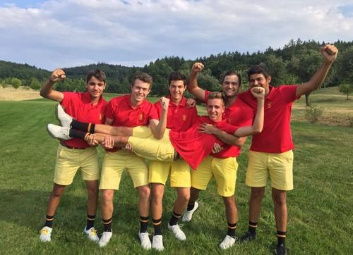 Séptima medalla de oro en el Europeo Sub 18 Masculino
