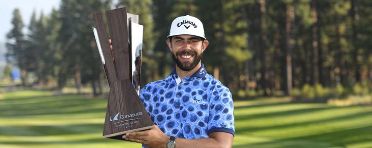Erick Van Rooyen se estrena en el PGA Tour con una gran victoria