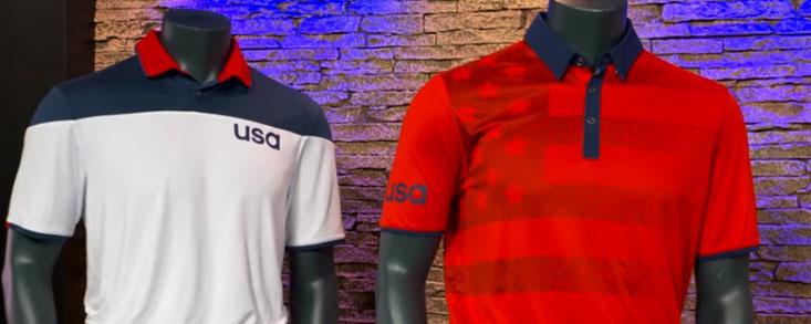 Mucho rojo, azul, blanco, barras y estrellas para los Juegos