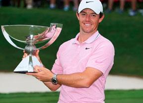 Rory McIlroy gana el Tour Championship con una última vuelta de 66 golpes