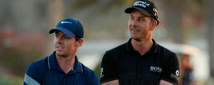 McIlroy y Stenson, espectadores de lujo en Dubai