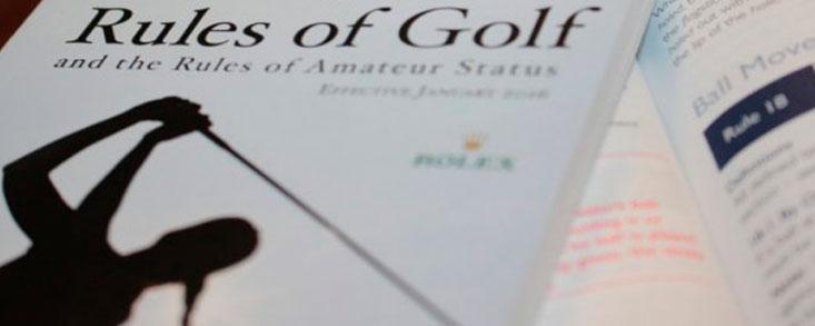 Vea las nuevas reglas de golf que entran en vigor en 25 vídeos de la RFEG