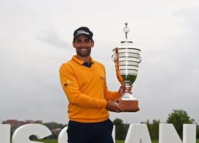 Lee Slatery, que no ganaba desde su triunfo en el Open de Madrid en 2011, alza la copa en Rusia
