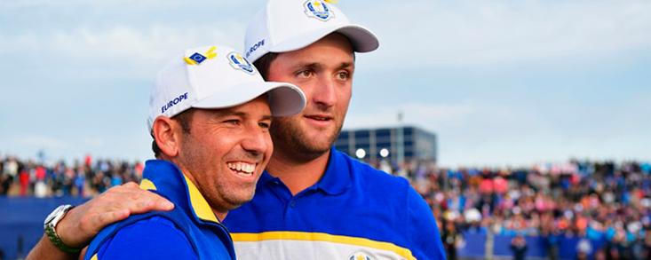 La Ryder Cup de Whistling Straits epicentro del golf mundial con Rahm y García como protagonistas del equipo de Harrington