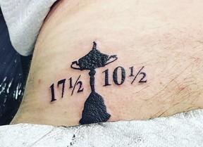 Thomas Bjorn se tatúa el 17,5 a 10,5 y cumple su promesa