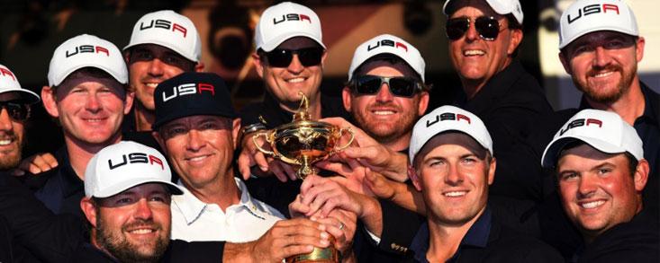 Estados Unidos recupera la Ryder Cup ocho años después con un contundente 17- 11