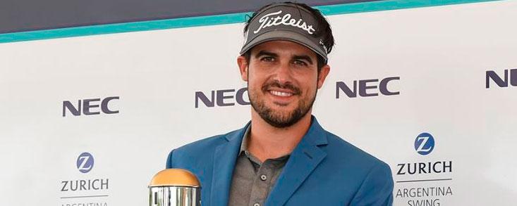 Samuel del Val triunfa en el PGA Latinoamérica