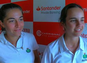 Las amateurs sevillanas Ana García Pichi y Ana Pina, colíderes para empezar