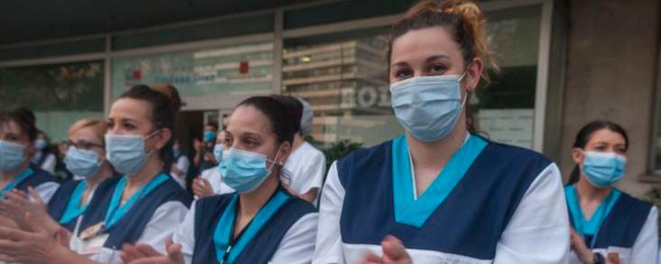El Princesa de Asturias será para los sanitarios españoles