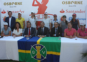 Vallromanes se viste de gala para una nueva cita del Santander Tour