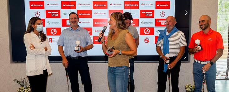 Las leyendas del golf español femenino brillaron en Golf Santander