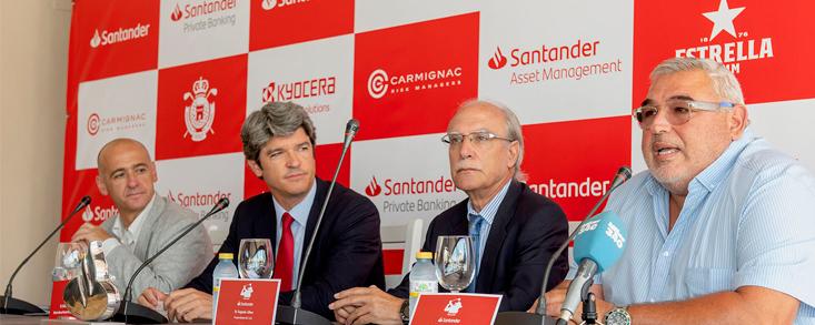 Presentada la tercera parada del Santander Golf Tour en Mijas
