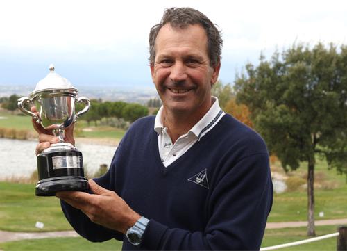 Santi Luna gana el Campeonato de Madrid de Profesionales Senior
