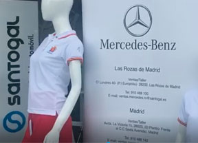 Santogal Mercedes con el Open de España