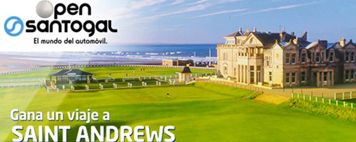 Santogal te invita a jugar en St. Andrews