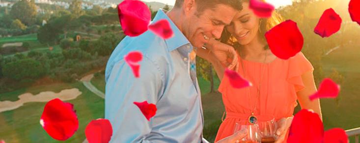 El golf también enamora en San Valentín