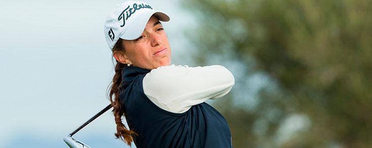 Silvia Bañon comienza líder en Australia