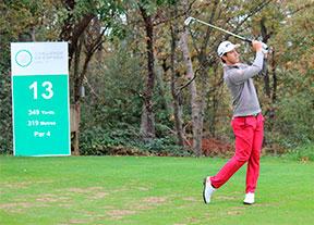 Pedro Oriol, Scott Fernández y David Borda rozan el top ten en Izki Golf