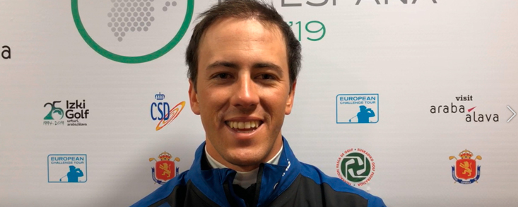 Scott Fernández: 'Hoy era un golf de supervivencia'