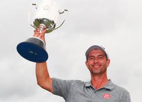 Adam Scott consigue una victoria más de tres años después