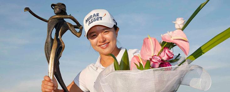 Sei Young Kim gana igualando la marca de Annika Sorenstam