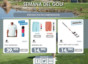 Semana del Golf en Decathlon