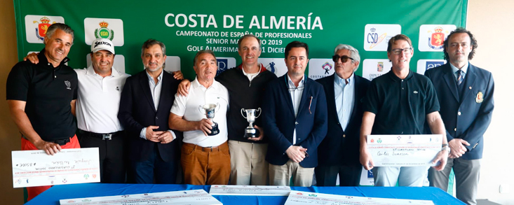 Jesús María Arruti, brillante ganador en Golf Almerimar