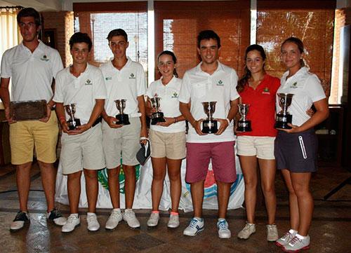 Ángel Hidalgo y Laura Gómez, campeones