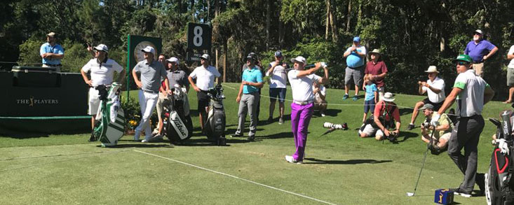 Buen dia de entrenamiento con García, Cabrera Bello y John Rahm practicando juntos