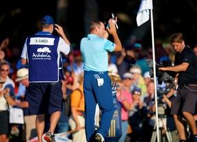 """Sergio: """"Posiblemente sea la mejor vuelta de mi vida, he jugado muy bien al golf"""