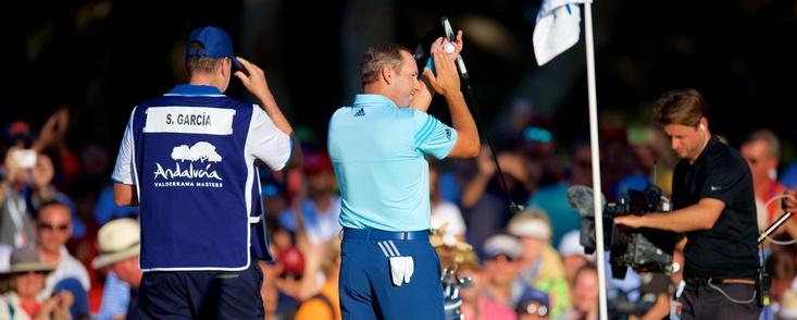 """Sergio: """"Posiblemente sea la mejor vuelta de mi vida, he jugado muy bien al golf'"""