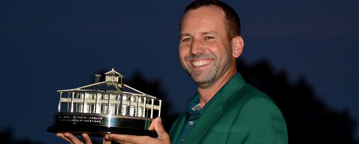 El primer Masters de Augusta de Sergio, inolvidable para el golf español