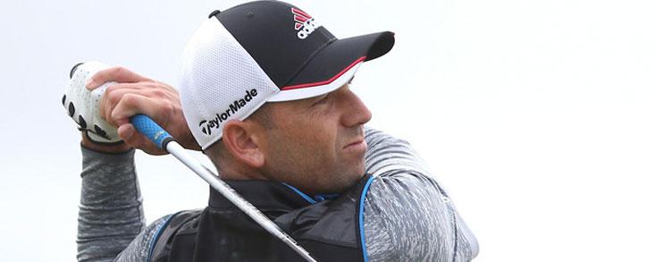 Sergio García se muestra serio en St. Andrews