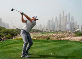 Vueltón de Sergio García en la primera jornada de Dubai: 66 golpes sin error