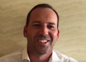 Sergio García nos invita a que disfrutemos del mejor golf en Valderrama